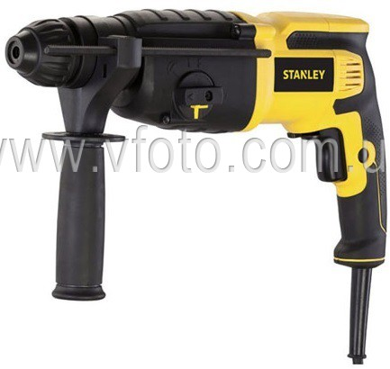 Перфоратор Stanley SHR263K SDS-Plus, 800 Вт, 3.4Дж, 0-1150об/мин. (6361395)