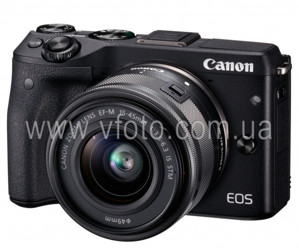 Цифровая фотокамера Canon EOS M3 15-45mm IS (6314717)