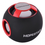 Bluetooth-колонка HOPESTAR-H46, StrongPower, c функцией speakerphone, радио, red (7922)