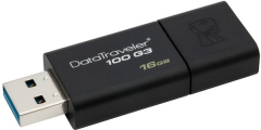 Flash Drive Kingston DataTraveler 100 G3 64GB (DT100G3/64GB) (6047131)