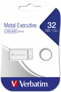 Flash Drive Verbatim Metal Executive Silver 32 GB (98749) (6418730)