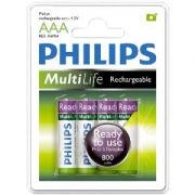 Аккумулятор Philips Ready to Use Ni-MH R03 800 mAh 1x2 шт.
