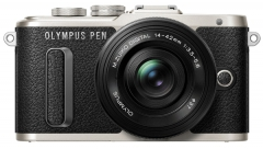 Цифровая фотокамера Olympus E-PL8 14-42 mm Pancake Zoom Kit Black/Black (6315663)