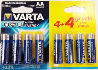 Батарейка Varta LR6 HIGH ENERGY